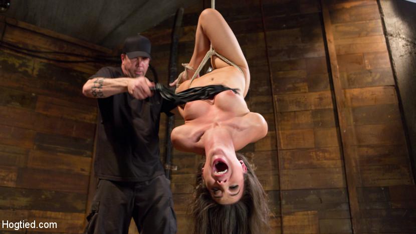 rohrstock spanking dildo in muschi