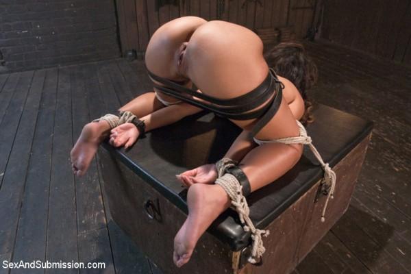 Bestrafung durch Anus Auspeitschen